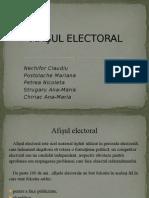 Afişul Electoral