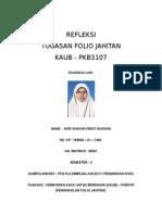 Refleksi Folio Jahitan