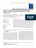 Influence of Salt Bath Nitrocarburizing and Post Oxidation Process on Surface Microstructure Evolution of 17 4PH Stainless Steel 2008 Journal of Mater