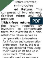 Risk+&+Return+(Portfolio)