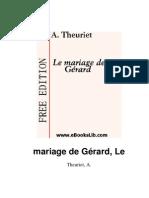 Le mariage de Gérard - A Theuriet