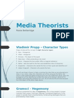 Media Theorists