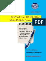 Diktat & Bank Soal MKDT 2013 Final - Hard Cover