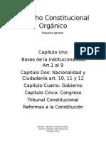 Derecho Constitucional Orgánico