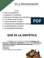 Nutrición y Alimentación I