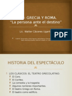 Teatro Grecia y Roma