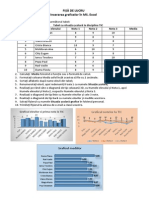 Fisa Grafice in Excel