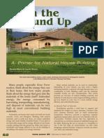 A Primer for Natural House Building