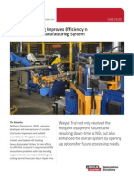 northern stamping improves efficiency