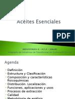 Aceites Esenciales de la Madera 2013