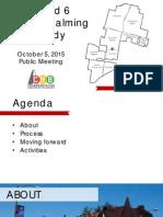 Ward 6 Neighborhood Mtg 1 Presentation