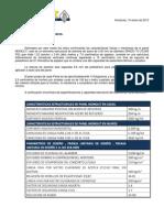 Carta Electropanel Grupo Centuria
