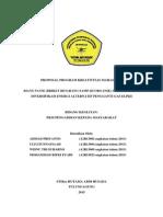 Ahmad Priyanto_stikes Hutama Abdi Husada Tulungagung_pkm-m_biang Panik (Briket Bio Arang Sampah Organik) Sebagai Upaya Diversifikasi Energi Pengganti Gas Elpigi