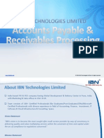Accounts Payable Receivables Processing