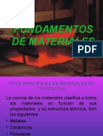 Fundamentos de Materiales Cruz