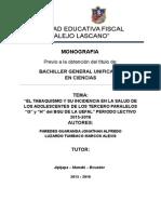 Fideo Tabaquismo