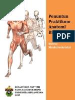 Penuntun Praktikum Muskuloskeletal Biomedik I 2015
