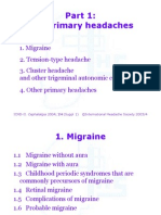 Pt1 - Primary Headachesudshdshsd