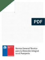 Norma Tecnica Para La Atencion Integral en El Puerperio 2015