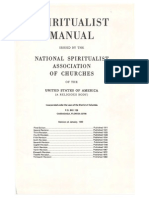 1911 Anonymous Spiritualist Manual Nsac Usa
