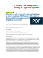 BSOP 434 Week 5 Lab Assignment Cycle Counting & Logistics Systems.docx