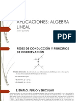 Aplicaciones Del Algebra