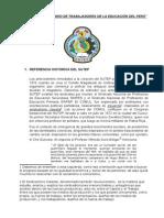 El Sindicato Unitario de Trabajadores de La Educación Del Perú