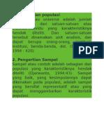 Pengertian Populasi Dan Sampel