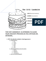 crit sandwich