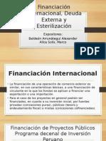Financiación Internacional, Deuda externa y Esterilización economi mundial com