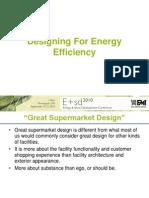 Designing for Energy Efficiency 2010FMI