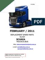 Scania catálogo