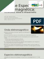 Analise Espectro eletromagnética