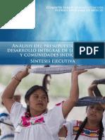 Analisis del Presupuesto Indigena 2015