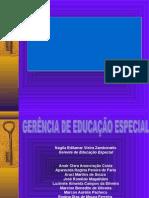 Política - Educação Especial 2007