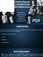 Principales Corrientes Epistemológicas