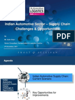 Indian Automotive Sector – Supply Chain