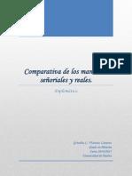 Comparativa de Los Mandatos Señoriales y Reales