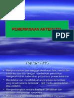 1.Pemeriksaan Antenatal
