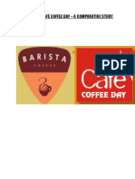 Barista and Cafe Coffee Day
