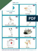SupEFL Flashcards Health English