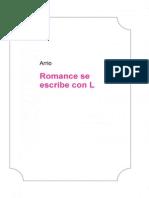 Romance Se Escribe Con L