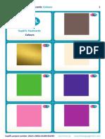 SupEFL Flashcards Colours No Text