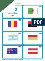 SupEFL Flashcards Flags Hand drawn