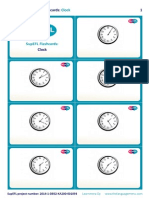 SupEFL Flashcards Clock