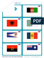 SupEFL Flashcards Flags Usual No Text