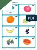 SupEFL Flashcards Fruit