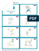 SupEFL Flashcards Sports