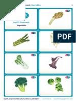 SupEFL Flashcards Vegetables
