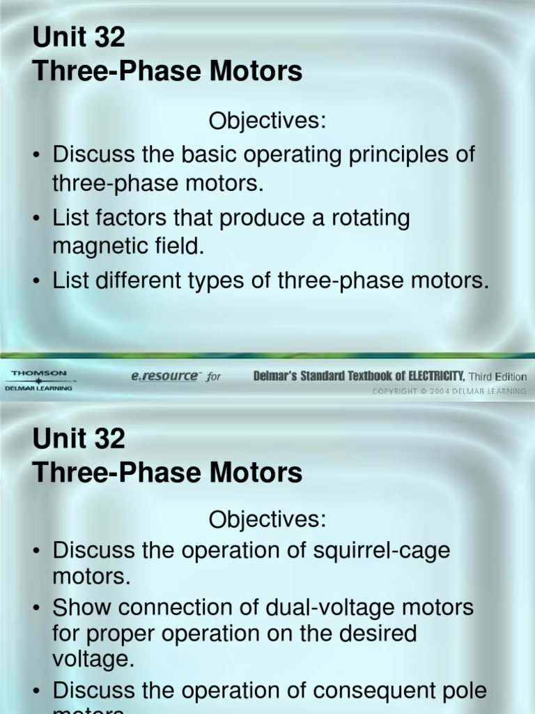 3 Phase Motors | Magnetic Devices | Electrodynamics